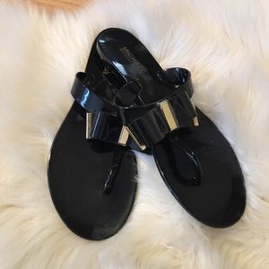 Micheal Kors Caroline Jelly sandals  size 8